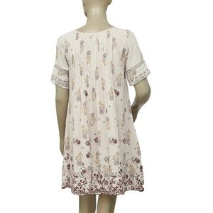 Ecote Dresses - Ecote Amethyst Pintucked Frock Dress new small